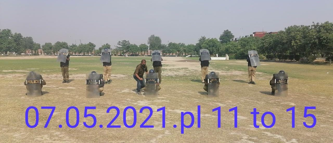 Daily Training Activities at Punjab Constabulary (07.05.2021)