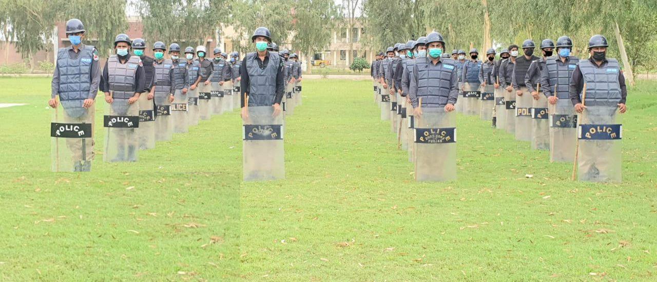 Daily Training Activities at Punjab Constabulary (24.09.2021)